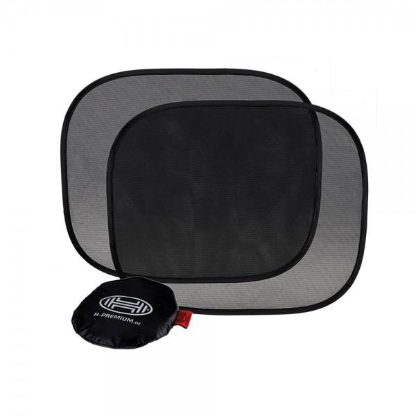 Premium Auto Sonnenschutz selbsthaftend 44x36cm 2er Set