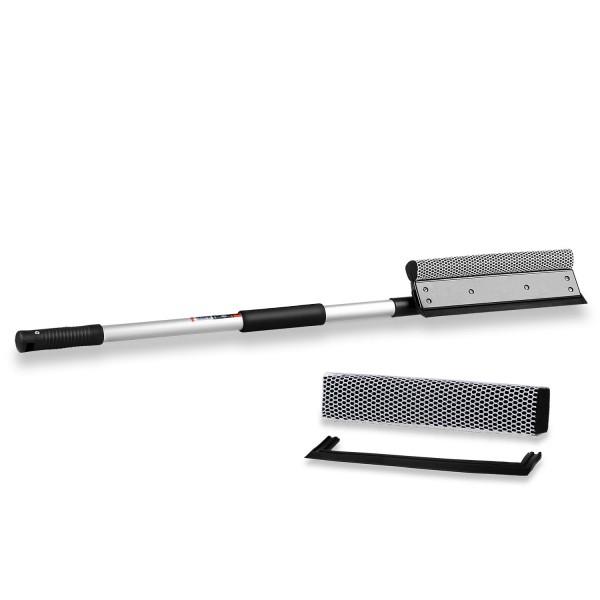 SET - Premium Scheibenreiniger Aluminium XL + Ersatzschwamm
