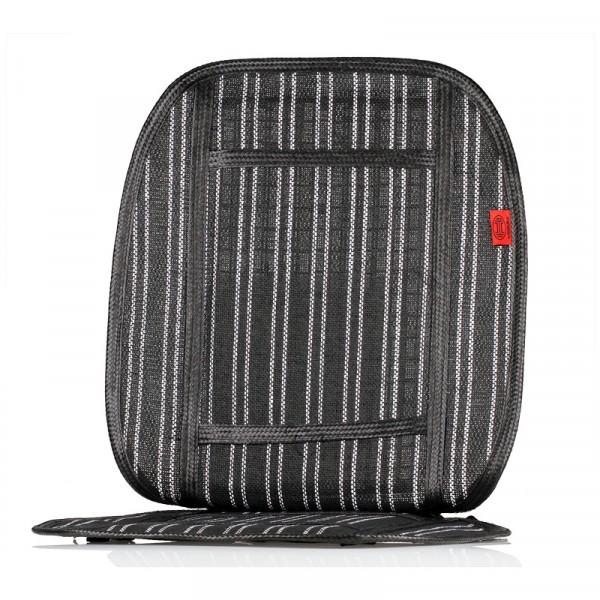 Premium Kühlsitzauflage schwarz/weiß