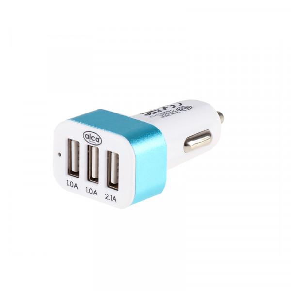 USB Ladegerät weiß/blau