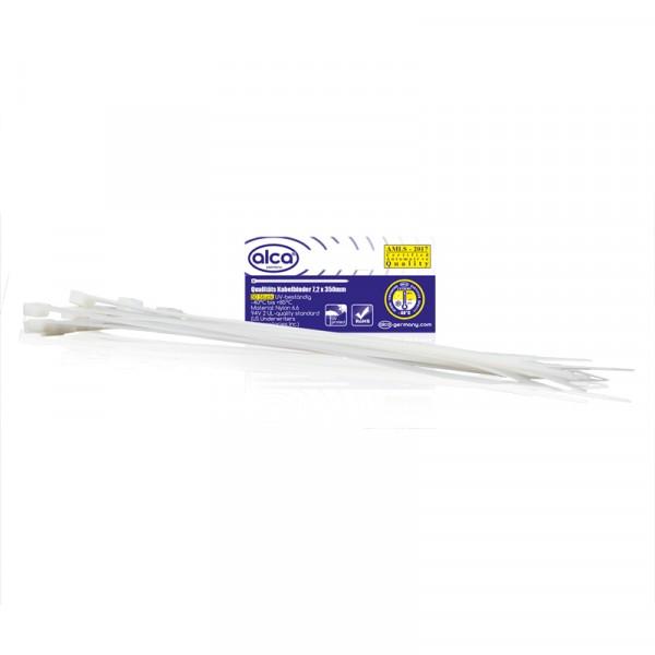 Kabelbinder 7,2*350mm 50 St. weiß