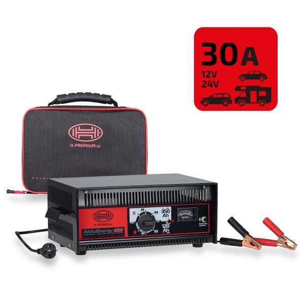 Premium Batterieladegerät 30A 12/24V