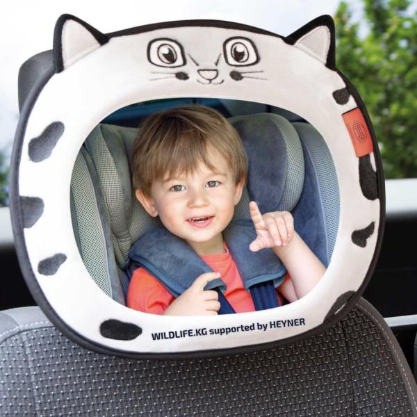 Premium Leopard Auto-Sitz Spiegel