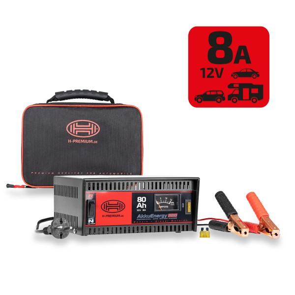 Premium Batterieladegerät 8A 12V