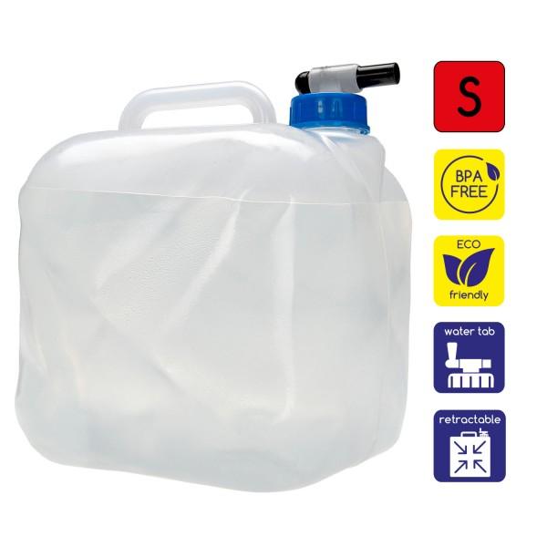 Faltbarer Wasserkanister 5L mit Ablasshahn
