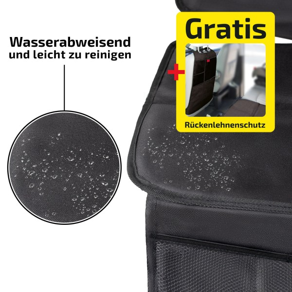 Sitzschutz PRO Black
