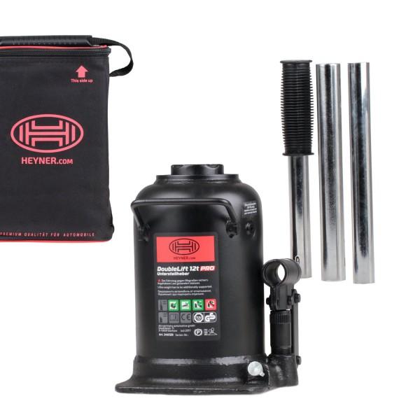 Premium hydraulischer Unterstellheber 3-stufig 12t