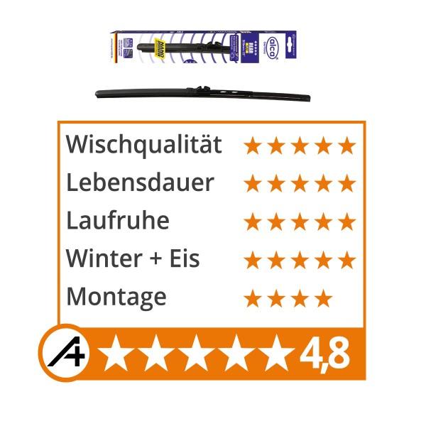 Heckwischerblatt alca REAR FLAT